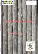 Trois Bouts de Bois Jocelyn Vinay Partition laflutedepan