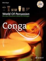 World of Percussion - Conga Ellen Mayer Partition laflutedepan.com