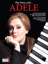 Adele - Play Piano With... Adele - Partition - di-arezzo.fr
