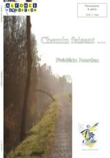 Chemin Faisant... Frédéric Jourdan Partition laflutedepan.com