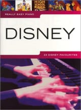 Really easy piano - Disney - DISNEY - Partition - laflutedepan.com