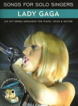 Songs For Solo Singers Gaga Lady Partition laflutedepan.com