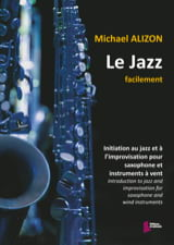 Le jazz facilement Michael Alizon Partition laflutedepan.com