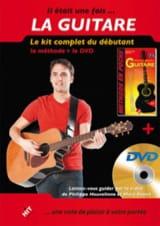 Heuvelinne Philippe / Rouvé Marc - Il Etait Une Fois... la Guitare - Kit Complet, la Méthode + le DVD - Partition - di-arezzo.fr