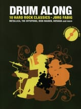 Drum Along - 10 Hard Rock Classics - Partition - laflutedepan.com