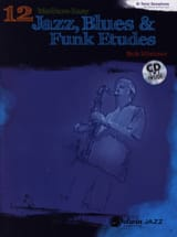 12 Medium-Easy Jazz, Blues & Funk Etudes Bob Mintzer laflutedepan.com