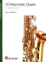 10 Klezmatic Duets for Saxophones Coen Wolfgram laflutedepan.com