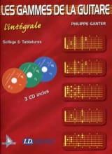 Philippe Ganter - Die Bereiche der Gitarre - L'Intégrale - Noten - di-arezzo.de