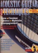 Acoustic Guitare Techniques volume 1 laflutedepan.com