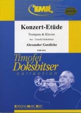 Alexander Goedicke - Konzert-Etüde Opus 49 - Sheet Music - di-arezzo.com
