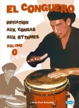 El Conguero Volume 0 Jean-Paul Boissière Partition laflutedepan.com