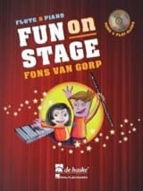 Fun On Stage - Gorp Fons Van - Partition - laflutedepan.com