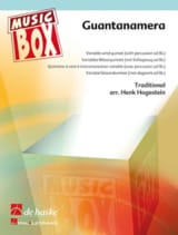 Traditionnel - Guantanamera - music box - Partition - di-arezzo.fr