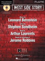 West Side Story BERNSTEIN Partition Flûte traversière - laflutedepan