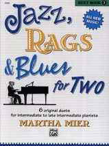Jazz, Rags & Blues for Two - Duet Book 3 Martha Mier laflutedepan