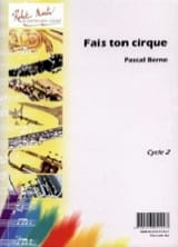 Fais Ton Cirque Pascal Berne Partition Vibraphone - laflutedepan.com