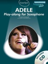 Adele Play-Along for Saxophone Adele Partition laflutedepan