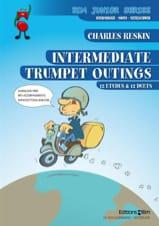 Intermediate Trumpet Outlings Charles Reskin laflutedepan.com