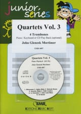 John Glenesk Mortimer - Quartets Volume 3 - Partition - di-arezzo.fr