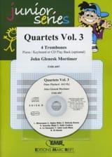 Quartets Volume 3 John Glenesk Mortimer Partition laflutedepan.com