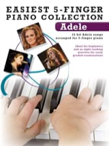 Adele - Easiest 5-Finger Piano Collection - Partition - di-arezzo.fr