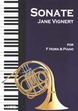 Sonate opus 7 Jane Vignery Partition Cor - laflutedepan.com