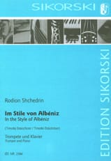 In the Style of Albeniz Rodion Shchedrin Partition laflutedepan.com