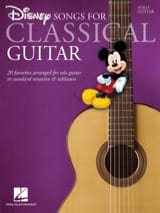 Disney Songs for Classical Guitar DISNEY Partition laflutedepan.com