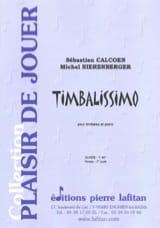 Timbalissimo Sébastien Calcoen Partition Timbales - laflutedepan.com