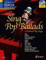 Sing Pop Ballads - 12 Famous Pop Songs Partition laflutedepan.com
