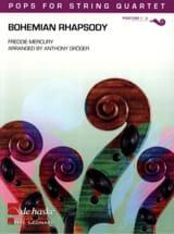 Queen - Bohemian Rhapsody - Pops for String Quartet - Partition - di-arezzo.fr