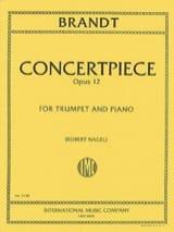 Concertpiece N° 2 Opus 12 - Vassily Brandt - laflutedepan.com