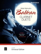 Balkan Clarinet Duets Traditionnel / Mamudov Hidan laflutedepan.com