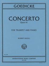 Alexander Goedicke - Concerto Opus 41 - Sheet Music - di-arezzo.co.uk