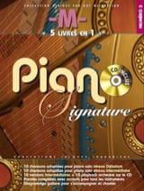 Matthieu Chedid -M- Signature Piano Number 5 - Partitura - di-arezzo.es