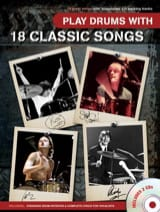 Play Drums With 18 Classic Songs avec 2 CDs - laflutedepan.com