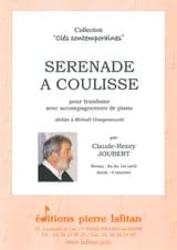 Sérénade à Coulisse - Claude-Henry Joubert - laflutedepan.com