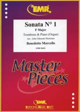 Sonata N°1 in F Major Benedetto Marcello Partition laflutedepan.com