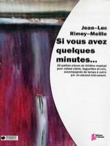 Si Vous Avez Quelques Minutes... laflutedepan.com