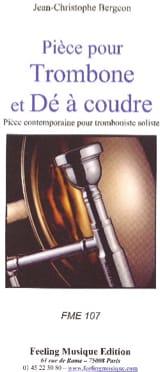 Pièce Pour Trombone et Dé à Coudre laflutedepan.com