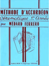 Médard Ferrero - 1st year chromatic accordion method - Blue - Sheet Music - di-arezzo.com
