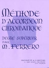 Médard Ferrero - Higher Degree Chromatic Accordion Method - Mauve - Sheet Music - di-arezzo.co.uk