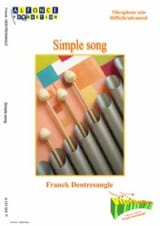 Franck Dentresangle - Simple Song - Partition - di-arezzo.fr