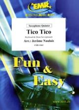 Tico Tico - Zequinha Abreu - Partition - Saxophone - laflutedepan.com