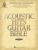 Acoustic Hits Guitar Bible Partition laflutedepan.com