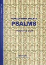Corrado Maria Saglietti - Psalms - Partition - di-arezzo.fr