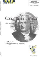 Johann Sebastian Bach - Concerto en D Mineur - 1er mouvement - Partition - di-arezzo.fr
