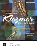 Klezmer - Saxophone duets Michael Lösch Partition laflutedepan.com