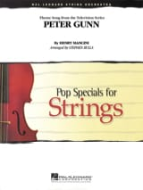 Henry Mancini - Peter gunn - Pop specials for strings - Partition - di-arezzo.fr