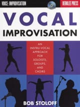 Bob Stoloff - Improvisación vocal - Berklee Press - Partitura - di-arezzo.es